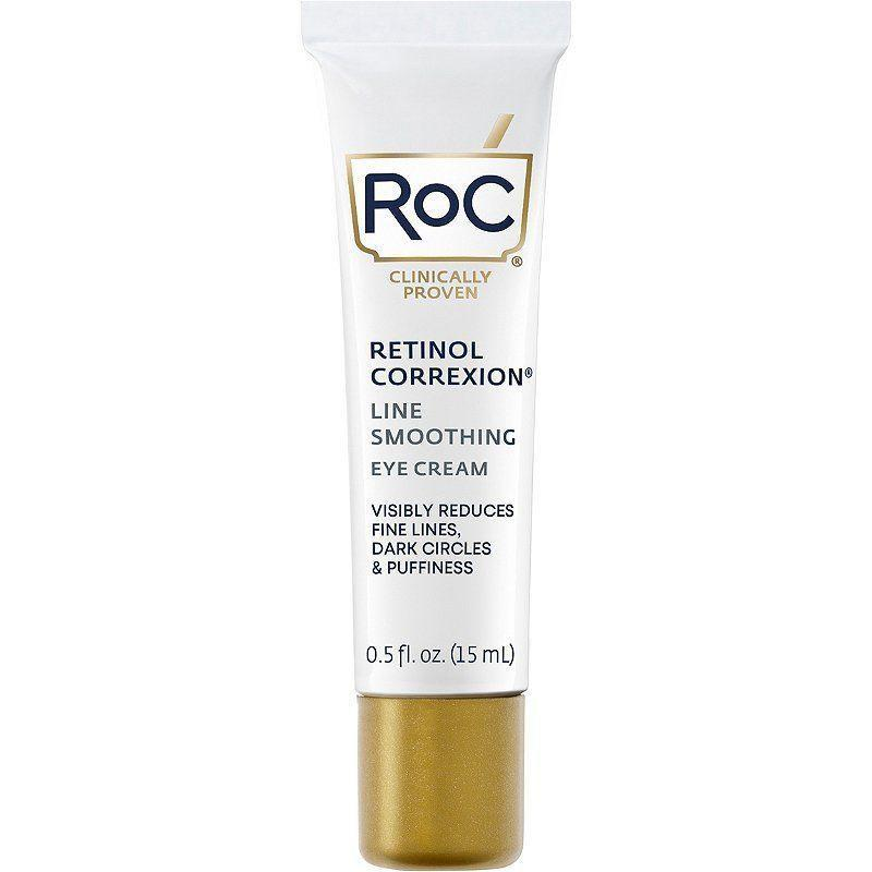 """<p><strong>RoC</strong></p><p>ulta.com</p><p><strong>$24.99</strong></p><p><a href=""""https://go.redirectingat.com?id=74968X1596630&url=https%3A%2F%2Fwww.ulta.com%2Fp%2Fretinol-correxion-eye-cream-prod2112112&sref=https%3A%2F%2Fwww.thepioneerwoman.com%2Fbeauty%2Fskin-makeup-nails%2Fg37620997%2Fbest-eye-cream-for-wrinkles%2F"""" rel=""""nofollow noopener"""" target=""""_blank"""" data-ylk=""""slk:Shop Now"""" class=""""link rapid-noclick-resp"""">Shop Now</a></p><p>This ever-popular eye cream is packed with retinol, so it smoothes and brightened with ease. The formula is non-greasy, so don't be afraid to apply it under your concealer.</p>"""