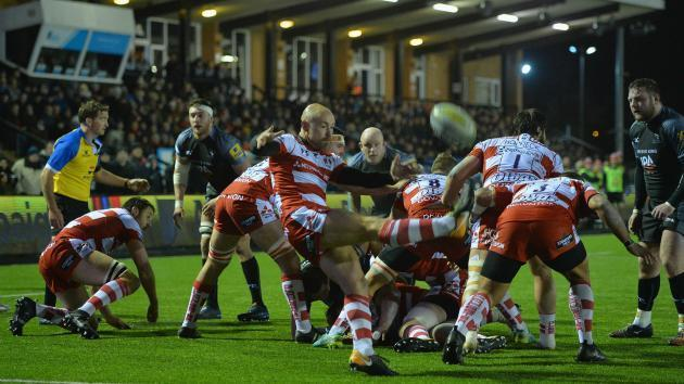 <p>Newcastle beaten by Gloucester in Premiership</p>