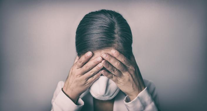 Around one in five adults feel more comfortable talking about grief following the events of the coronavirus crisis. (Getty Images)