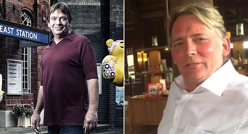61-year-old John Eric Wells, who is wanted in connection with three high value romance frauds, has been mocked for looking like Eastenders character Ian Beale (BBC/SOUTH YORKSHIRE POLICE)