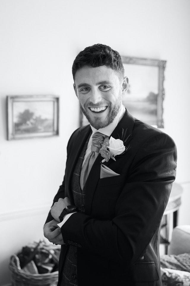 Pc Andrew Harper on his wedding day