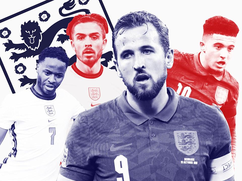 England Euro 2020 squad: Who will make Gareth Southgate's 23-man selection? (Getty Images /  The Independent)