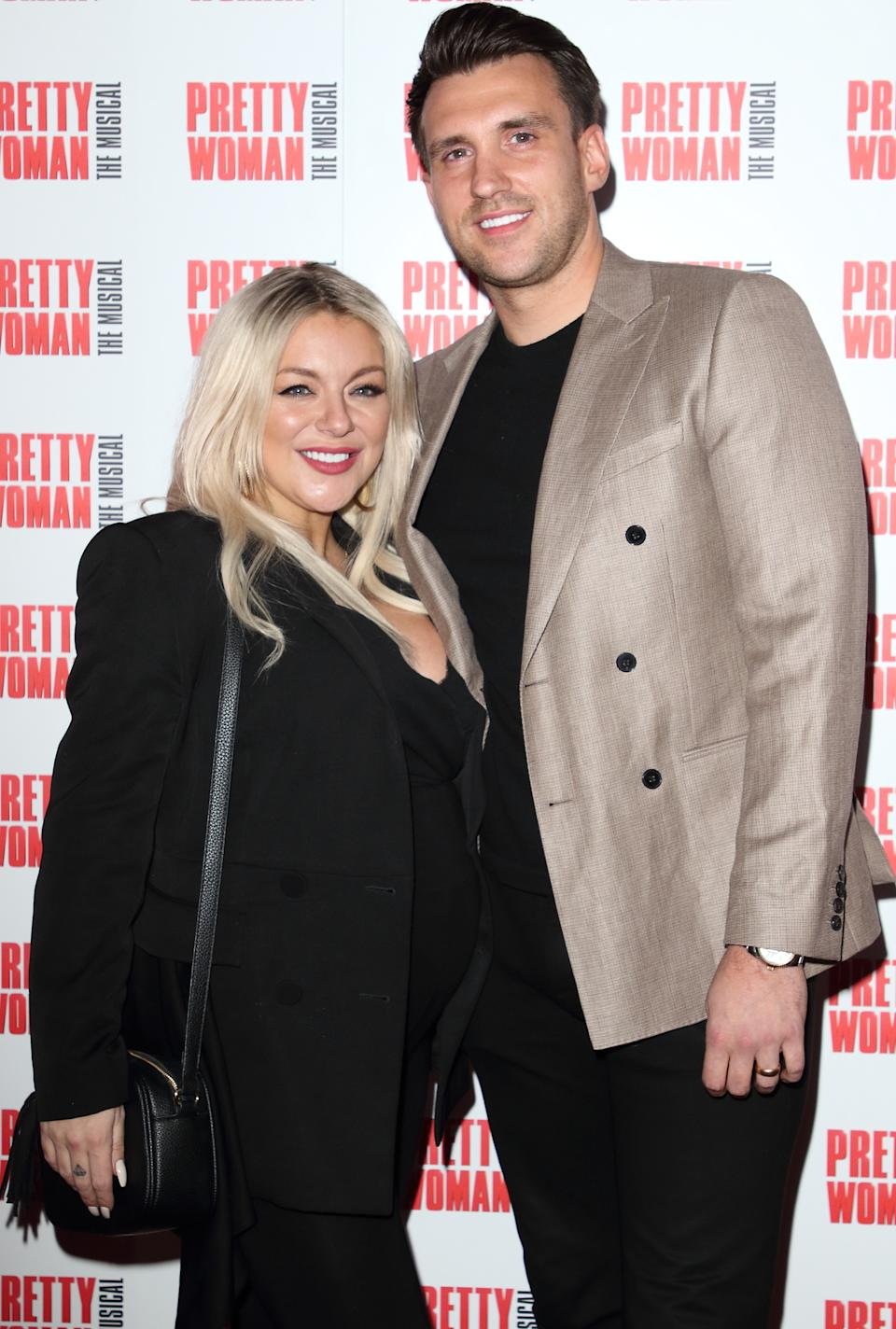 Sheridan Smith and Jamie Horn attend the Pretty Woman, The Musical Press Night t the Piccadilly Theatre in London. (Photo by Keith Mayhew / SOPA Images/Sipa USA)