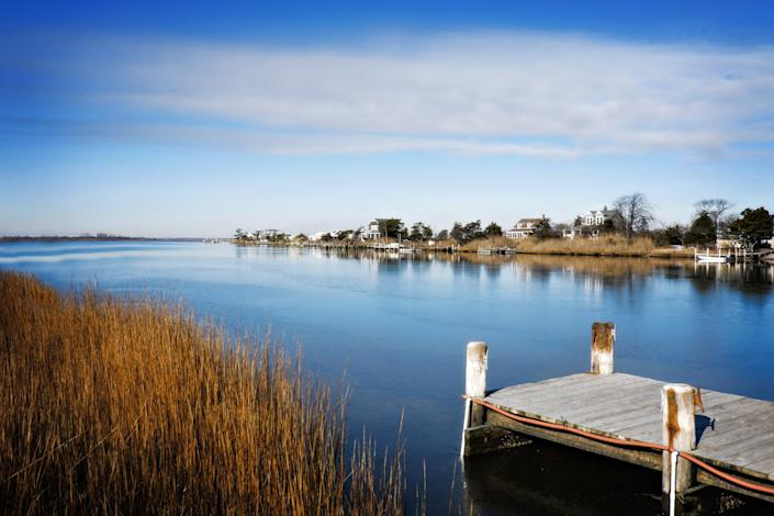 """<h1 class=""""title"""">Boat Dock and Oak Island, Babylon, Long Island, NY</h1><cite class=""""credit"""">Photo: Getty Images</cite>"""