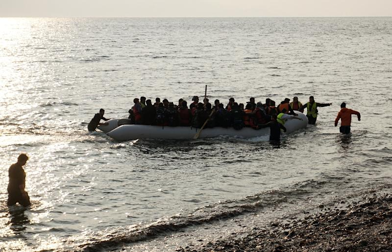 Over 4,000 migrants have died or are missing feared drowned so far this year (AFP Photo/)