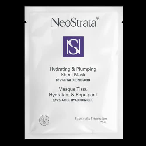 This mask by NeoStrata uses hyaluronic acid and a blend of botanicals to leave your skin feeling super soft and hydrated. <br><br><strong><span>Get NeoStrata's Hydrating & Plumping Sheet Mask for $8.50</span></strong>