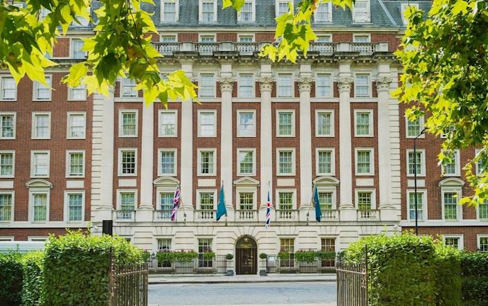 """Some hotels are still hotspots for espionage. In 2006, former Russian spy Alexander Litvinenko, then working for British intelligence, met with two fellow Russians at this hotel in London's upscale Mayfair. After having tea with the men, Litvinenko fell ill and was admitted to a local hospital, where he died of radiation poisoning days later. Authorities later found large amounts of radioactive material in a cup of tea found at the hotel. <em>Rooms start at around $253</em>; <a rel=""""nofollow noopener"""" href=""""https://www.millenniumhotels.com/en/london/millennium-hotel-london-mayfair/"""" target=""""_blank"""" data-ylk=""""slk:millenniumhotels.com/en/"""" class=""""link rapid-noclick-resp"""">millenniumhotels.com/en/</a>"""