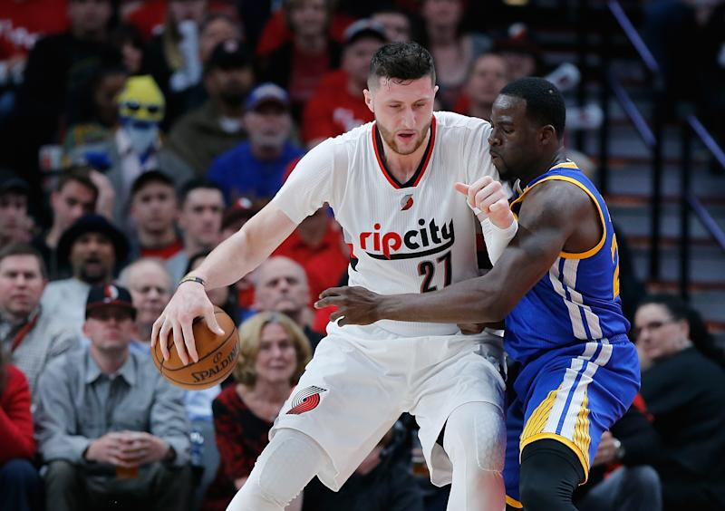 Jusuf Nurkic quick to respond to Draymond Green's comment about NBA centers