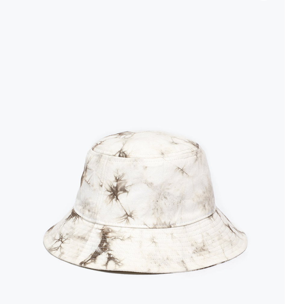 """<p>Madewell</p><p><strong>$32.00</strong></p><p><a href=""""https://go.redirectingat.com?id=74968X1596630&url=https%3A%2F%2Fwww.madewell.com%2Ftie-dye-short-brimmed-bucket-hat-NA688.html%3Fdwvar_NA688_color%3DNA5884%26cgid%3Daccessories-hats&sref=https%3A%2F%2Fwww.countryliving.com%2Fshopping%2Fg37003543%2Ffall-hats-women%2F"""" rel=""""nofollow noopener"""" target=""""_blank"""" data-ylk=""""slk:SHOP NOW"""" class=""""link rapid-noclick-resp"""">SHOP NOW</a></p><p>Tie-dye made a comeback this year and what better way to continue to trend in the new season that with a stylish bucket hat? Though the colors are subtle, this hand tie-dyed hat will match just about any casual look you think of. </p>"""