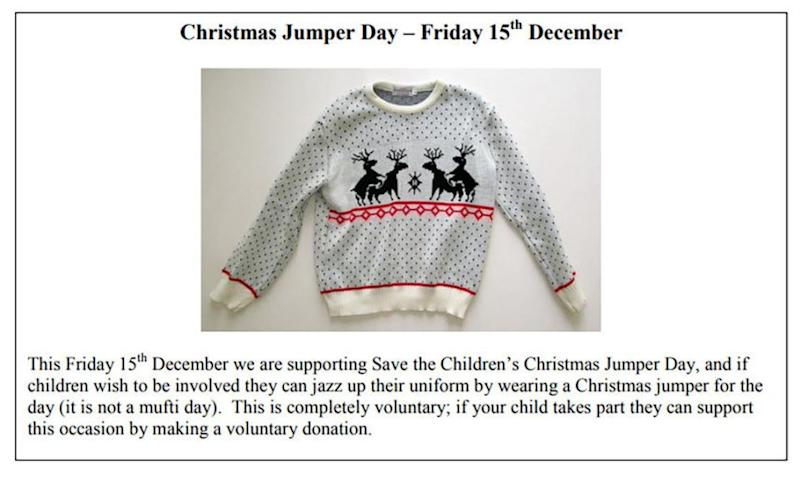 Can you spot what's wrong with this jumper? Photo: Mega