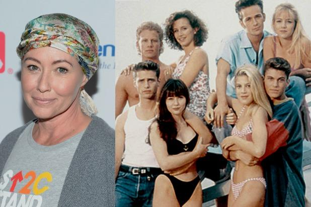 'Beverly Hills, 90210' stars reunite, honor Shannen Doherty as she battles cancer