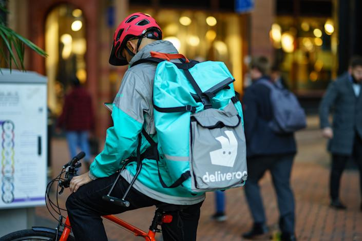 Deliveroo had a less than stellar stock market debut. Photo: Getty Images