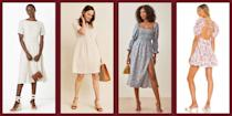 """<p class=""""body-dropcap"""">As soon as the weather gets warm, we like to bring out our linen dresses. The breathable material is cool and fresh, straight out of <em>The Great Gatsby. </em>It is also a super durable, even with washing, which means your linen staples should last a long time. </p><p>A linen dress is also the perfect summer staple to pack on a trip, since it can go from the pool to the party with a few accessory switches. Don't fret about the fabric wrinkling, that is just part of linen's charm and goes with those easy summer vibes. Here, 20 linen dresses that are gorgeously lightweight and flattering, including shirt dresses, crisp belted midis, and fun floral frocks. </p>"""