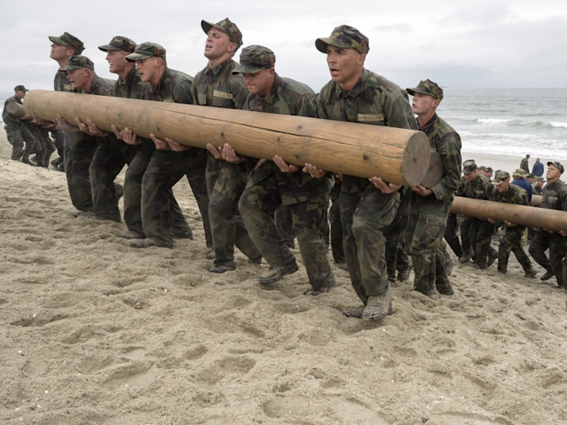 A former Navy SEAL shares his workout routine for staying in amazing shape