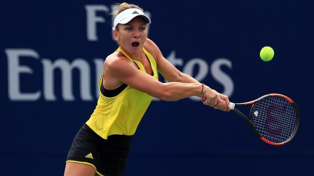 Svitolina ends Halep's title defence in Toronto semis