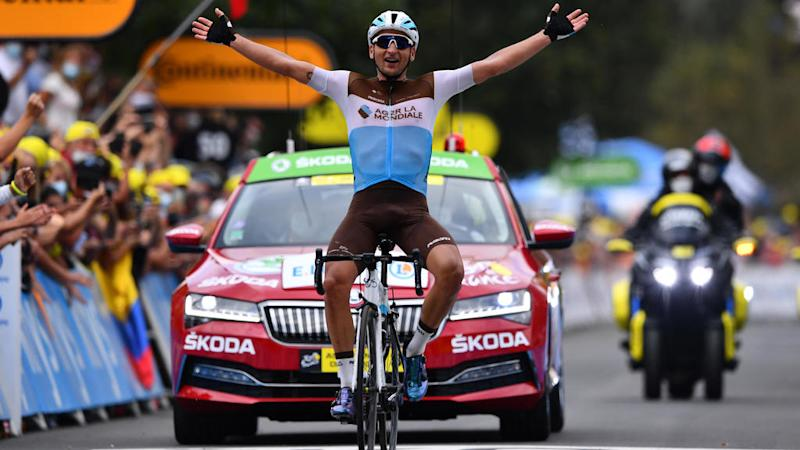 Frenchman Nans Peters wins 8th stage of Tour de France cycle race