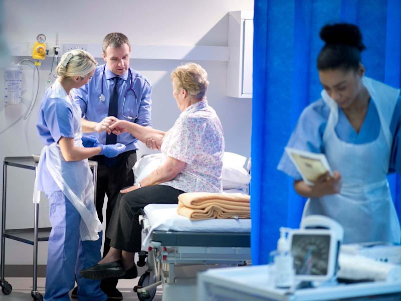 More than a quarter of staff, 28 per cent reported witnessing a mistake that could hurt patients in the last month, three per cent higher than in 2016: Getty/iStock