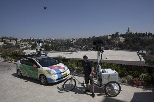 Street View Israel will show scenes in Jerusalem, Tel Aviv and Haifa