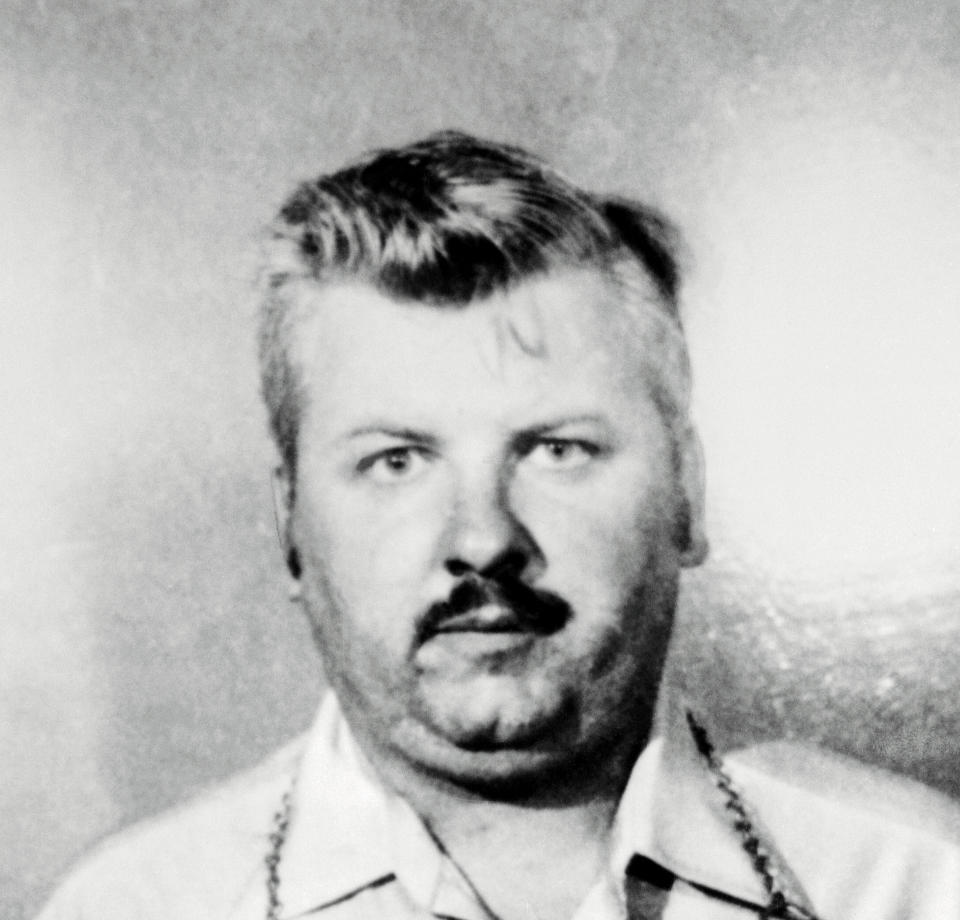 A police photo of John Wayne Gacy, 37, being held for questioning in connection with the discovery of five badly decomposed bodies. (Photo: Bettmann Archive via Getty Images)