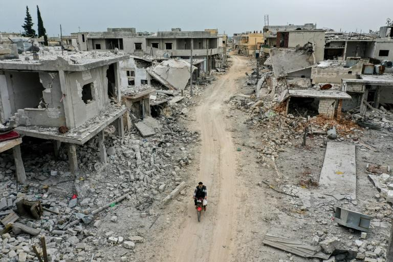 Half of Syria's pre-war population of 22 million were forced to flee their homes by the conflict