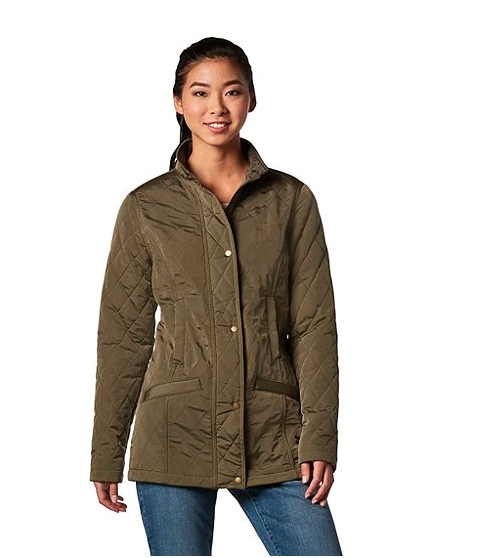 """<p>Very reminiscent of Kate Middleton's classic Barbour look, but at a fraction of the price.<br><strong>SHOP IT: <a href=""""https://fave.co/2WtWwax"""" rel=""""nofollow noopener"""" target=""""_blank"""" data-ylk=""""slk:Mark's Work Wearhouse, $84"""" class=""""link rapid-noclick-resp"""">Mark's Work Wearhouse, $84</a> </strong>(regular $120)<br><em>(Photo courtesy Mark's Work Wearhouse)</em> </p>"""