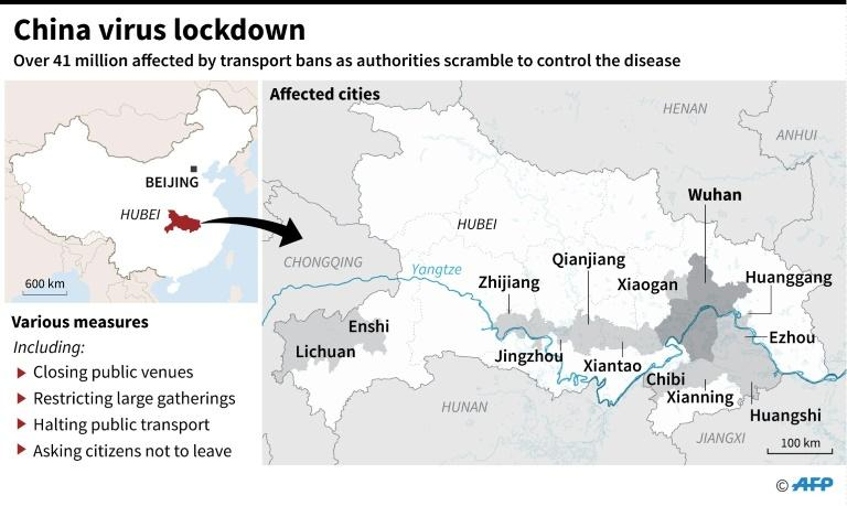 The contagious virus has already leaked to elsewhere in China and abroad