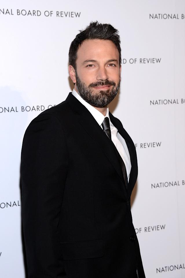 NEW YORK, NY - JANUARY 08:  Actor Ben Affleck attends the 2013 National Board Of Review Awards at Cipriani 42nd Street on January 8, 2013 in New York City.  (Photo by Stephen Lovekin/Getty Images)