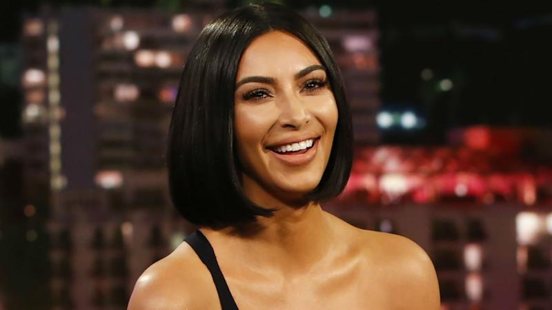 Kim Kardashian Looks Just Like North West in Adorable Throwback Pic