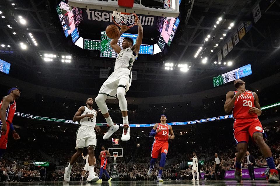 The 76ers have not been able to contain Giannis Antetokounmpo and the Bucks this season. The Bucks have swept the three-game season series, which is why the 76ers want to avoid a possible second-round playoff matchup against the Bucks.