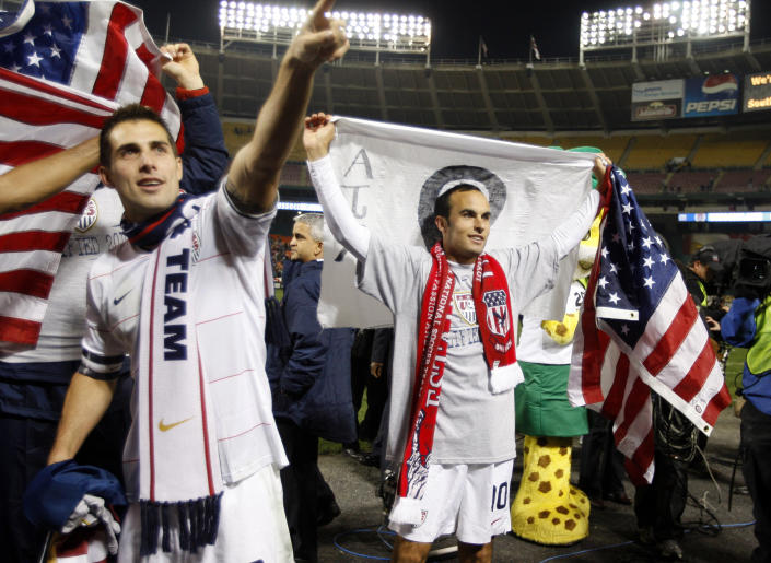The United States entered the decade on a high note, having qualified for the 2010 FIFA World Cup as champions of the CONCACAF Hex. (REUTERS/Jason Reed)