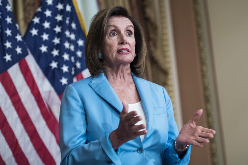 Nancy Pelosi casts doubts over US/UK trade deal