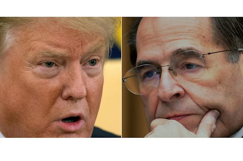 A showdown is looming between President Donald Trump and Jerry Nadler the Democratic Chairman of the House Judiciary Committee whose efforts to probe the president were rejected by a White House insider as a