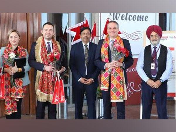 Poland shares strong bilateral and economic ties with India, says Polish Ambassador during his visit to Chandigarh University