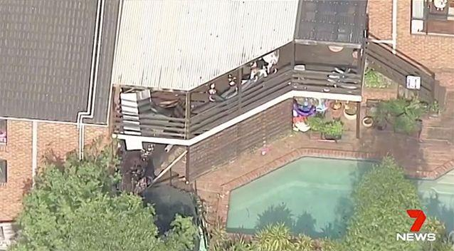 The balcony should have been safe, one architect assessed. Source: 7 News