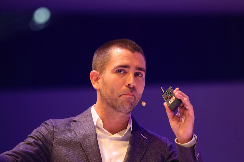 Chris Cox, chief product officer of Facebook Inc., pauses during the Dmexco digital marketing conference in Cologne, Germany, on Wednesday, Sept. 14, 2016. Dmexco is a two-day global business and digital economy innovation platform, attracting the industry's most important personalities and corporate decision-makers. Photographer: Krisztian Bocsi/Bloomberg via Getty Images