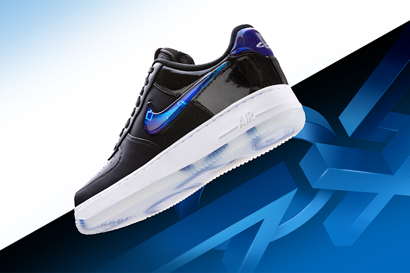 nike unveils the new playstation air force 1 with limited release at
