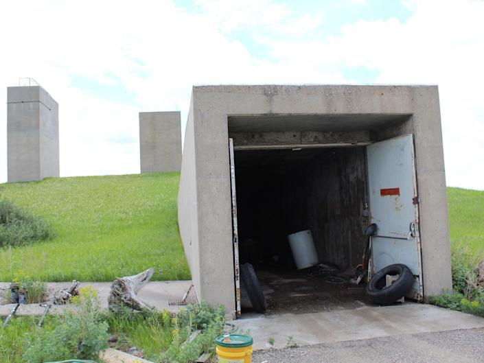 """Sprint Missile bunker. <p class=""""copyright"""">Pifer's Auction &amp; Realty – Moorhead, MN</p>"""