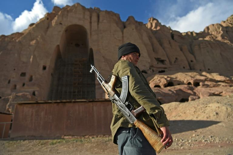 In 2001, the Taliban used dynamite and artillery to blow up two giant 1,500-year old statues of Buddha (AFP/WAKIL KOHSAR)