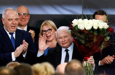 Poland's parliamentary election in Warsaw