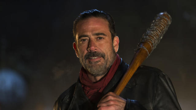 Jeffrey Dean Morgan as Negan. (Photo: AMC)