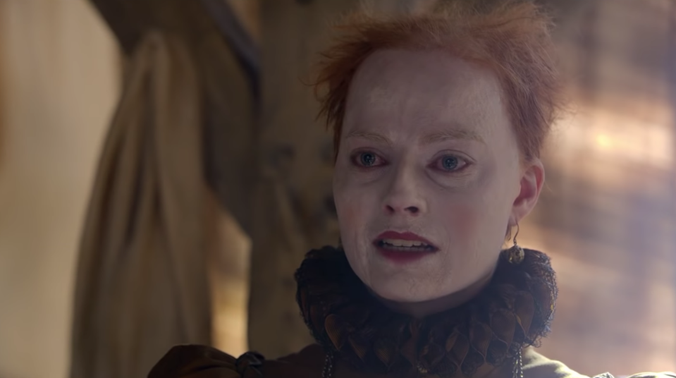 Margot Robbie in <i>Mary, Queen of Scots</i> (Universal)
