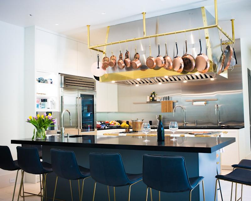 The Deuber's renovated kitchen.