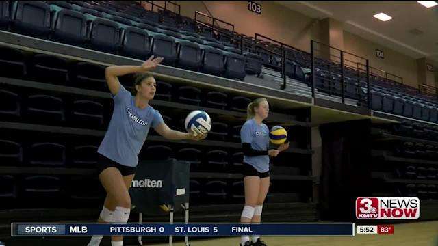 The Creighton volleyball team is headed to Europe later this month.