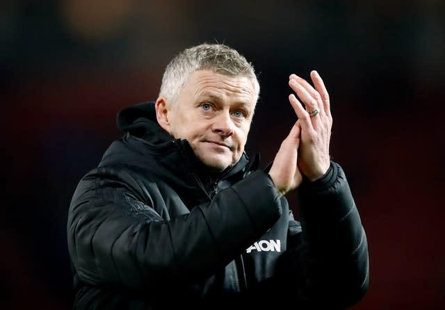 Manchester United manager Ole Gunnar Solskjaer is unruffled by departures elsewhere (Martin Rickett/PA)