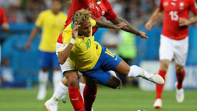 Neymar came in for rough treatment when Brazil played Switzerland but Oscar Ramirez says Costa Rica will not go out to kick the PSG star.