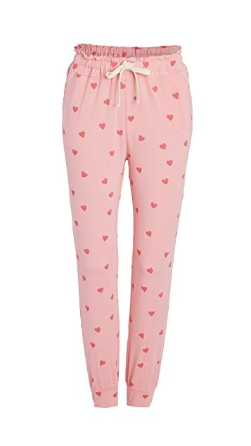 Stripe & Stare Heart Throb Lounge Pants