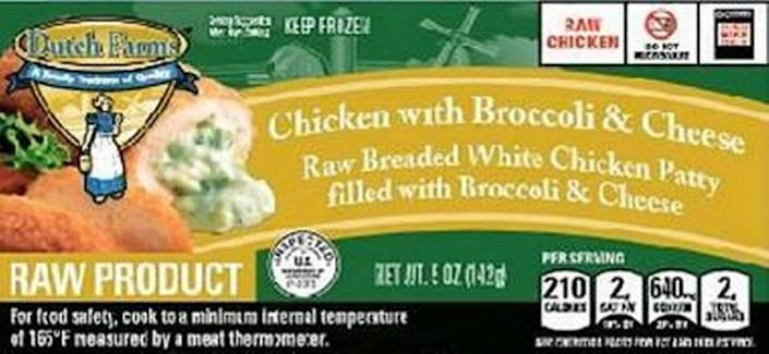 Dutch Farms Chicken with Broccoli & Cheese