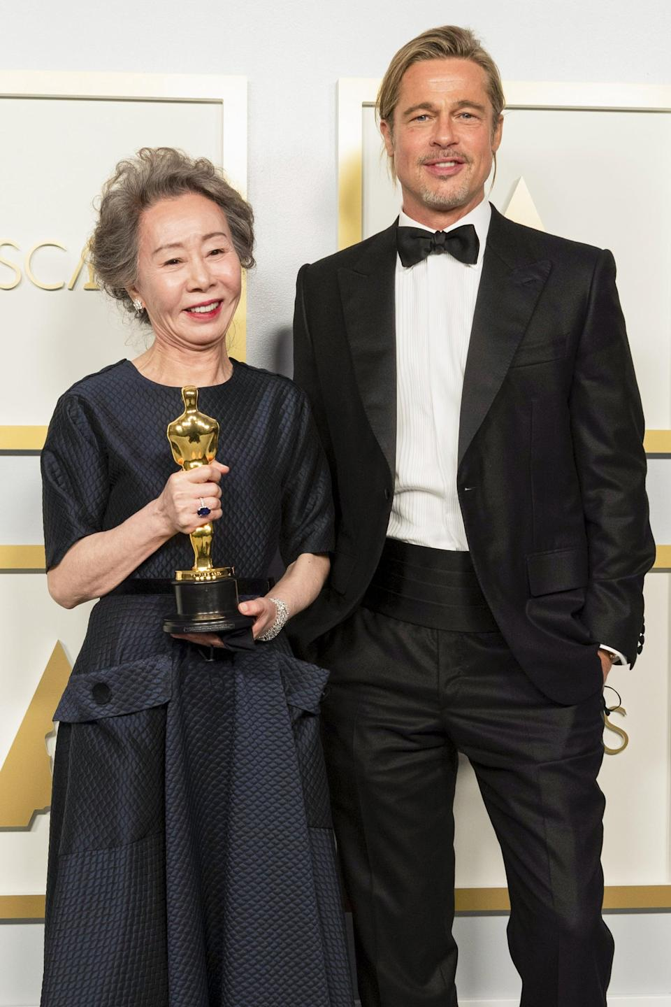 <p>Excuse me while I frame this photo of my new favorite Hollywood duo.</p>