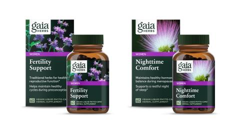 Gaia Herbs Introduces Two New Products to Support Women's Health