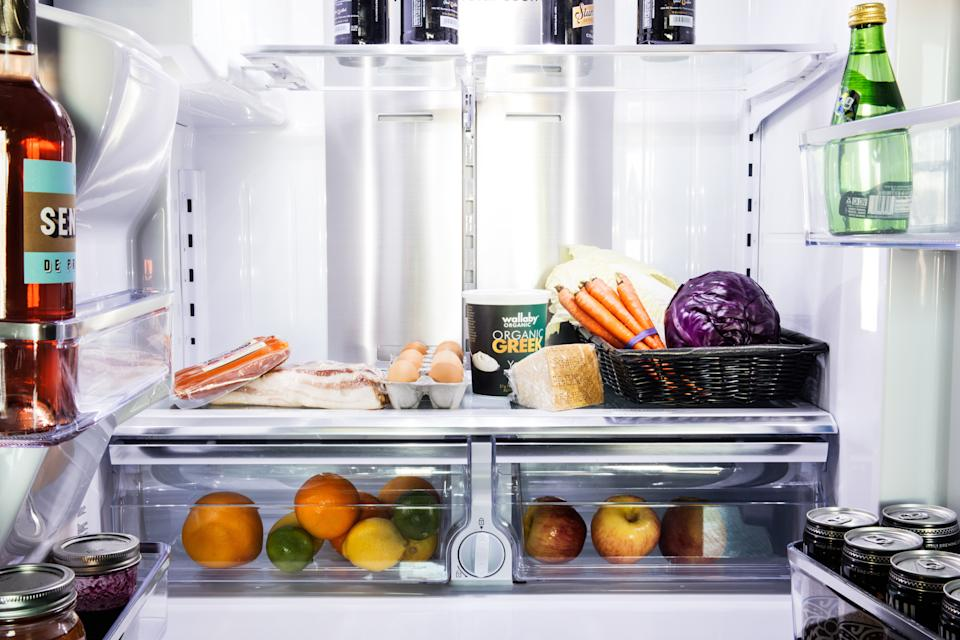 When your fridge starts to look like this—keep eating.